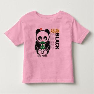Ropa del campanero del niño de Panda® del amor Camisetas