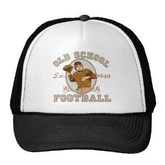 Ropa del fútbol de la escuela vieja gorros