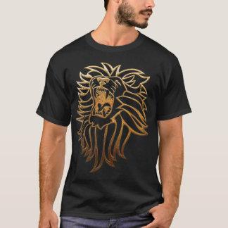 Ropa del gráfico del león del rugido camiseta