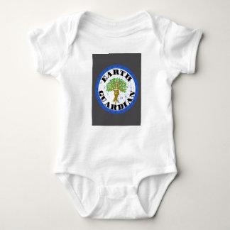 Ropa del guarda de la tierra, engranaje perfecto body para bebé
