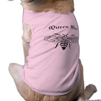 Ropa del mascota de la abeja reina