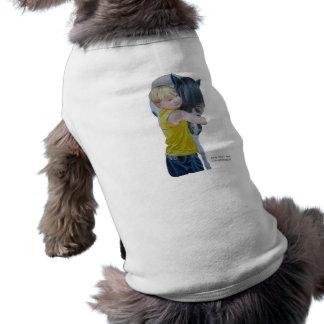 Ropa del mascota de la plantilla ropa de perro