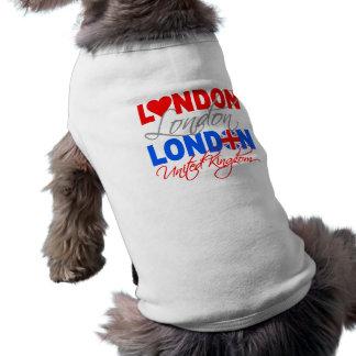 Ropa del mascota de Londres