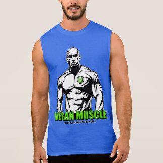Ropa del músculo del vegano camiseta sin mangas