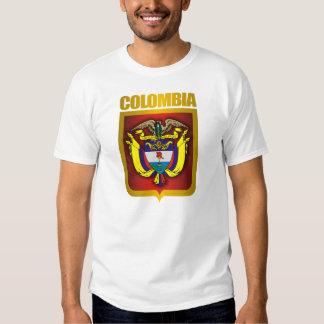 """""""Ropa del oro de Colombia"""" Camisetas"""