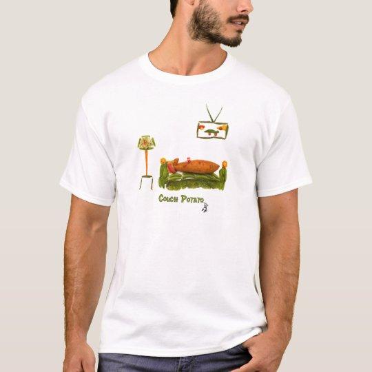 Ropa del teleadicto camiseta