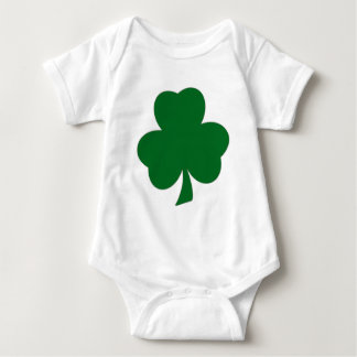 Ropa del trébol del bebé body para bebé