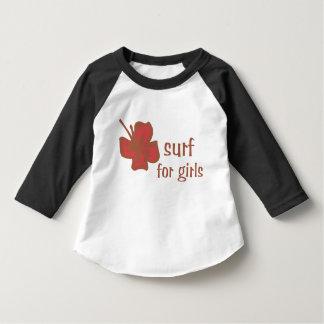 Ropa del vintage de la hawaiana 3/4 camiseta del
