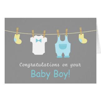 Tarjetas de felicitación para recien nacidos
