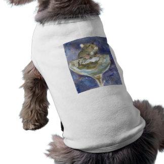 Ropa enana del mascota del hámster de las botas camiseta sin mangas para perro