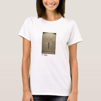Ropa negra y blanca del vintage de las mujeres de camiseta
