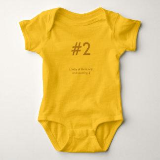 Ropa unisex del bebé body para bebé