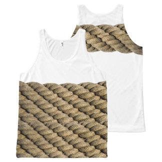 Rope los camiseta de tirantes con estampado integral
