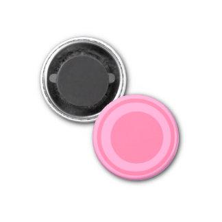 Rosa 1-1/4 del pedazo del ~TAG~ de los inspectores Imán Redondo 3 Cm
