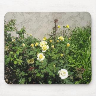 Rosa amarillo Mousepad