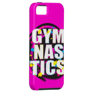 Rosa artístico de la pintura de la gimnasia iPhone 5 Case-Mate carcasa