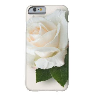 Rosa blanco 'Pascali Funda De iPhone 6 Barely There