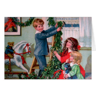 Rosa C. Petherick: Decoraciones del navidad Tarjeta De Felicitación