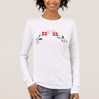 ROSA: Camisa de manga larga del tamaño extra