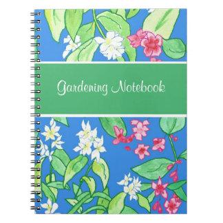Rosa, cuaderno que cultiva un huerto adaptable flo cuaderno