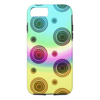 rosa de arco iris funda iPhone 7