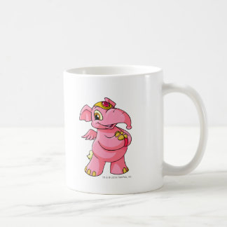 Rosa de Elephante Taza De Café