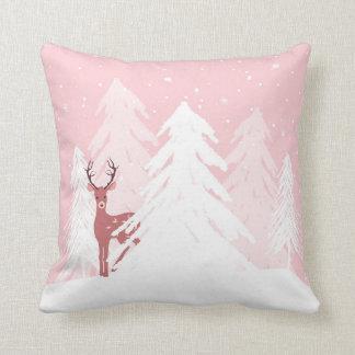 Rosa de la almohada de los ciervos del cumpleaños