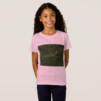 Rosa de la camiseta de los diseñadores de los
