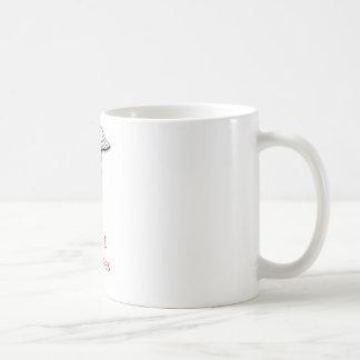 Rosa de la diabetes del tipo 1 taza básica blanca