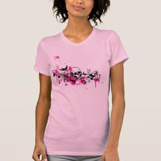 Rosa de la jerarquía de los gorriones camiseta