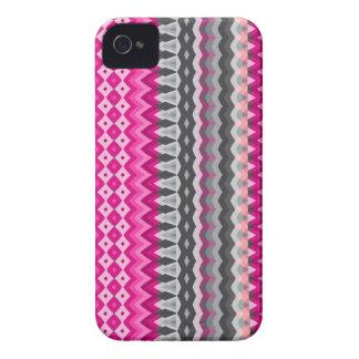 Rosa de la mezcla #130 - diseño azteca Case-Mate iPhone 4 cobertura