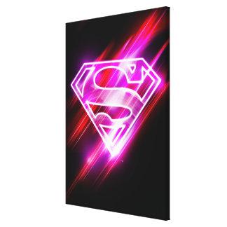 Rosa de Supergirl Impresión En Lona Estirada
