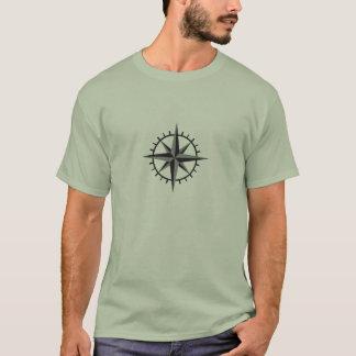 Rosa de viento camiseta