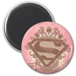 Rosa del ballet de la metrópoli de Supergirl Imán Redondo 5 Cm