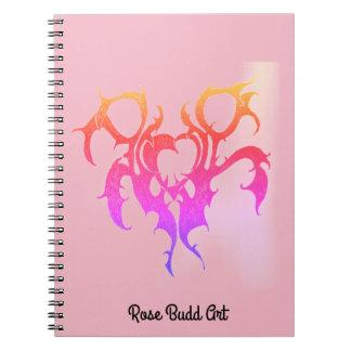 rosa del cuaderno