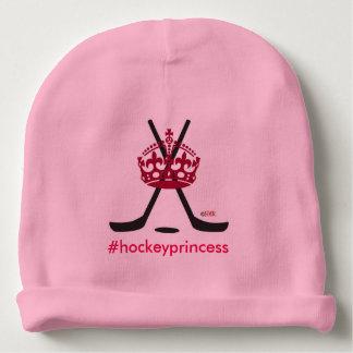 Rosa del ~ de princesa Infant Hat del hockey Gorrito Para Bebe