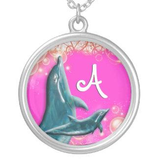 Rosa del delfín joyerias