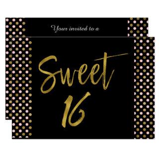 Rosa del dulce 16 e invitación del cumpleaños del