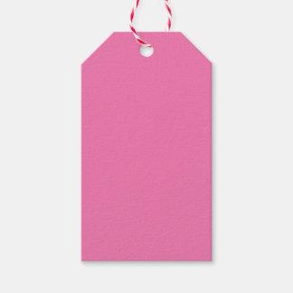 Rosa femenino etiquetas para regalos