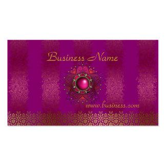 Rosa grabado en relieve negocio de la tarjeta del  plantillas de tarjeta de negocio