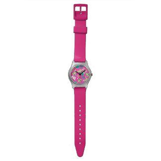 Rosa - Ho Ho Santa Reloj De Pulsera