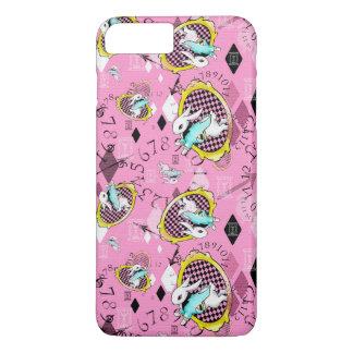 Rosa más del caso del iPhone 6 blancos del conejo Funda iPhone 7 Plus