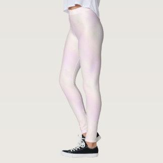 Rosa nacarado leggings