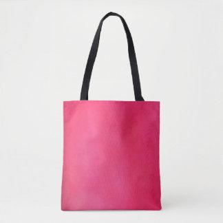 rosa oscuro ligero todo encima - imprima la bolsa