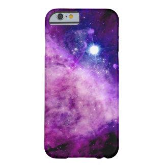 Rosa púrpura de la nebulosa de las estrellas del funda para iPhone 6 barely there