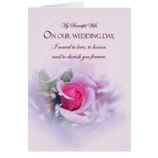 Rosa sentimental del aniversario de boda de la esp felicitaciones ...