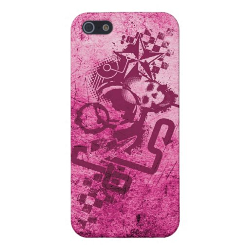 Rosa urbano del Grunge iPhone 5 Cobertura