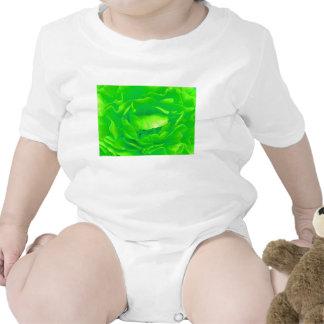 Rosa verde trajes de bebé