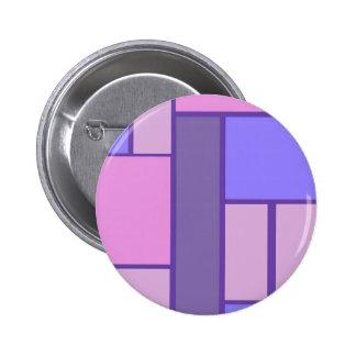 Rosa y extracto púrpura chapa redonda de 5 cm