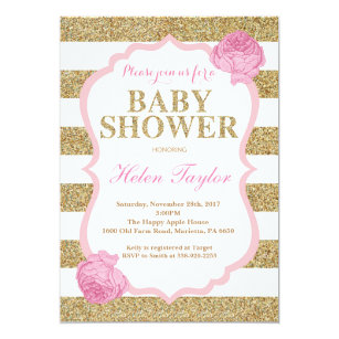 Invitaciones De Baby Shower Zazzlees